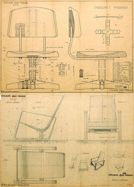 #prouve #blueprint #drawing
