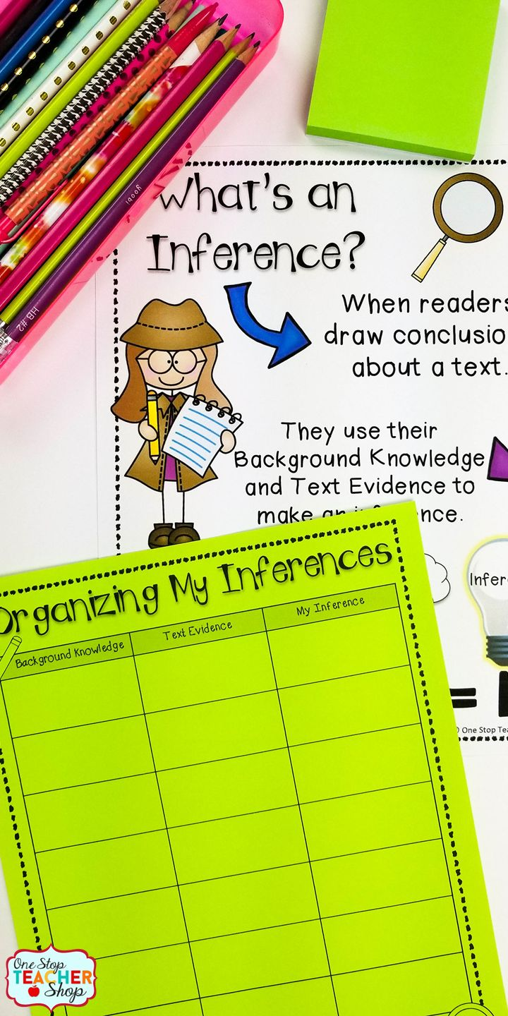 Best 25+ Making inferences ideas on Pinterest | Inference anchor ...