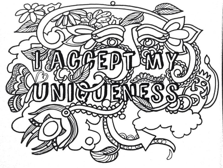 The Affirmations Coloring Book : Best images about mirror on word