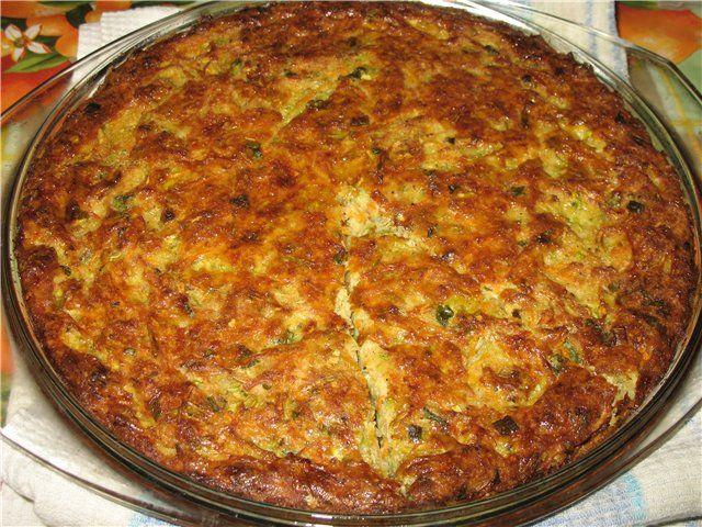 Овощной кугель- легкое летнее блюдо