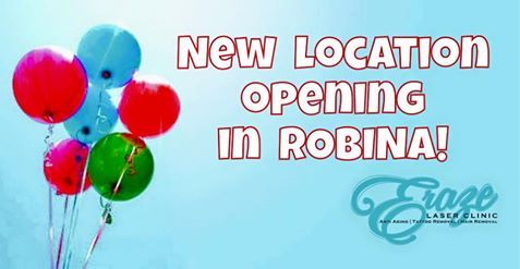 NEWSFLASH! ✨ ✨  We're so excited to announce we will be opening another location on 1st of October in Robina!!  Shop 1B, 76 Robina Town Centre Drive! For all appointments PM or call us: 07 5636 1529