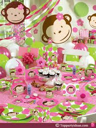 Image result for baby shower de monkey love  girl