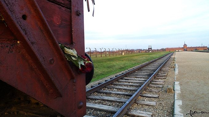 Birkenau.. never forget - The binary of Death in the concentration camp of Birkenau.. Never forget