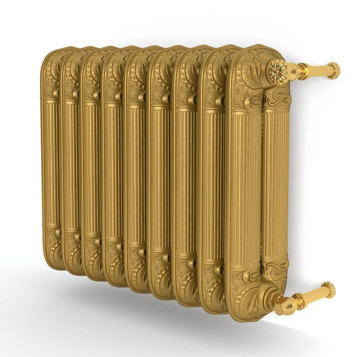 August Gold Retro Iron Radiator  http://radoxradiators.pl/grzejniki-pokojowe/august.html?