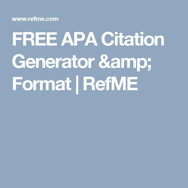 asa bibliography generator free