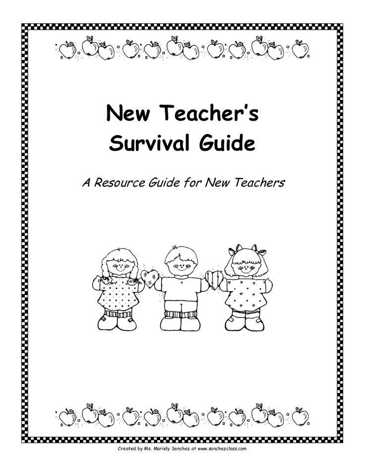 new-teachers-survival-kit by FULL2010 via Slideshare