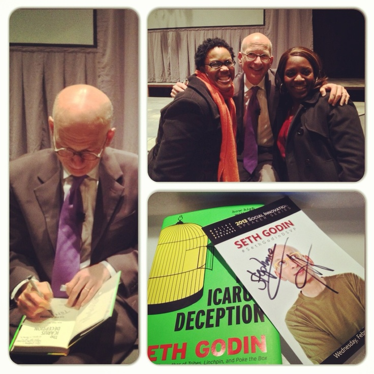 The best day when we met Seth Godin @ DSVP event in Dallas 2013