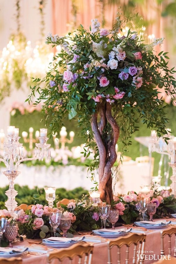 """Tablescape   An Ode to Marie Antoinette's """"Enchanted Garden"""""""
