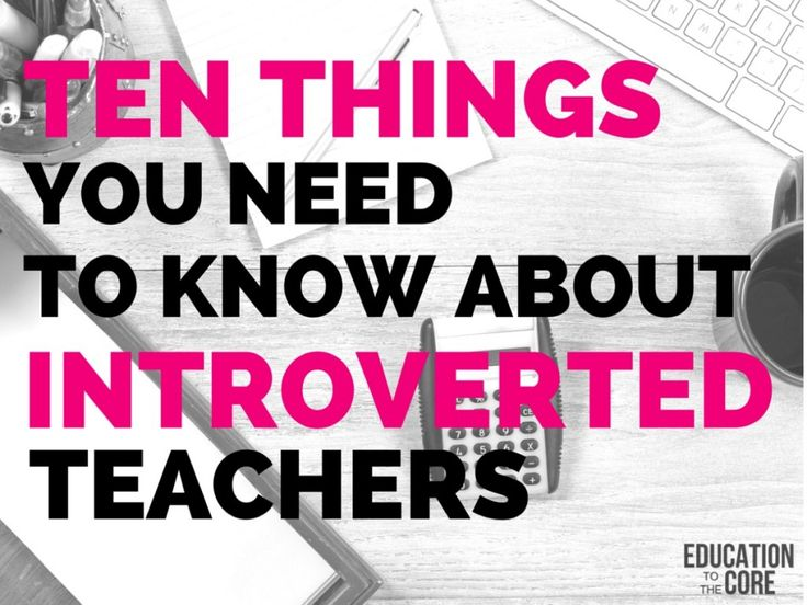 Teachers   You Education shoxie Teaching  to clothing and Introvert Things Teacher Introverted about Need store Ten Know