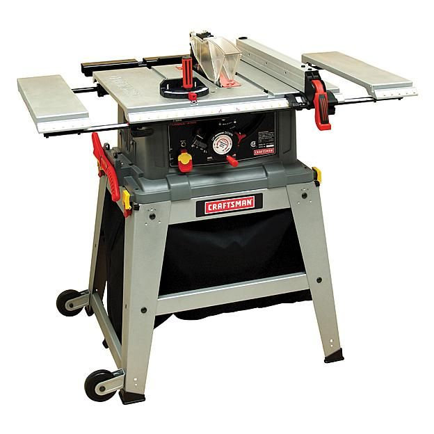 """Craftsman 10"""" Table Saw with Laser Trac® (21807)"""