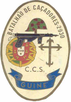 Companhia de Comando e Serviços do Batalhão de Caçadores 2930 Guiné