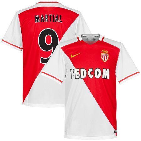 Nike AS Monaco Home Martial No.9 Shirt 2015 2016 (Fan AS Monaco Home Martial No.9 Shirt 2015 2016 (Fan Style Printing) - S http://www.MightGet.com/february-2017-2/nike-as-monaco-home-martial-no-9-shirt-2015-2016-fan.asp
