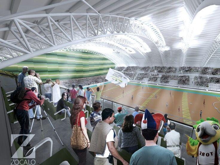 Vista desde VIP Coliseo Mayor Quibdo