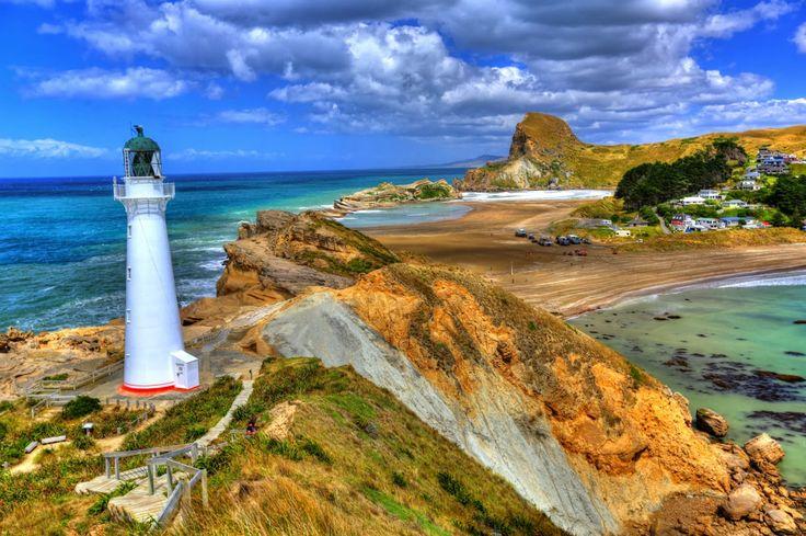 Castlepoint Beach - Wairarapa