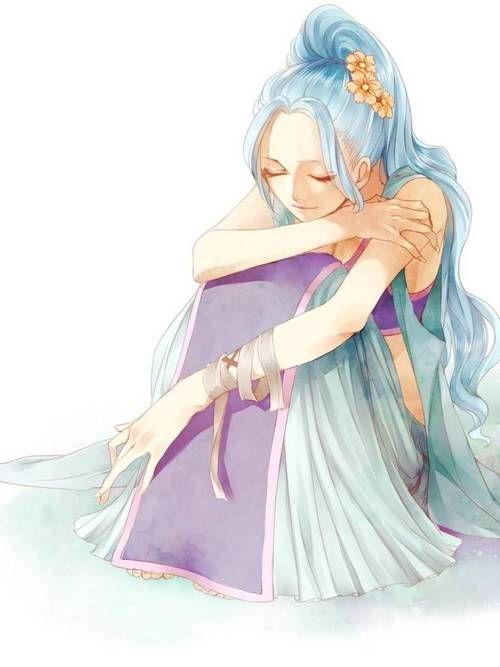 One Piece Vivi... j'aime pas trop ce personnage (pas assez violente, pas assez badass ) mais le dessin est juste magnifique