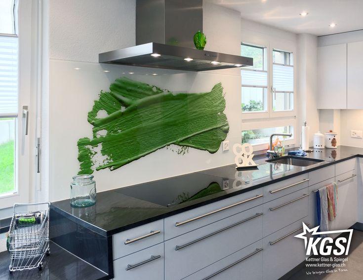 66 best Küchenrückwand images on Pinterest - lackiertes glas küchenrückwand