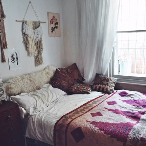 825 best Bohemian Bedrooms images on Pinterest | Bedroom ideas, Cozy ...