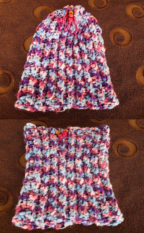 How to crochet easy hat
