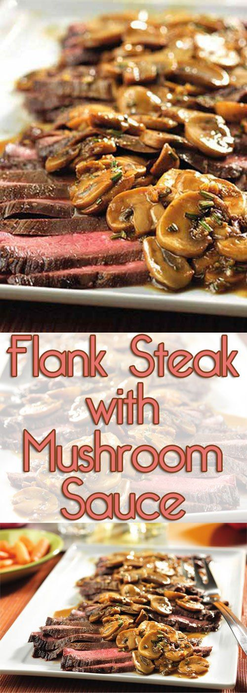Trendy and tasty, this skillet recipe is a simple and delicious way to prepare flank steak...and the flavorful sauce is absolutely divine!