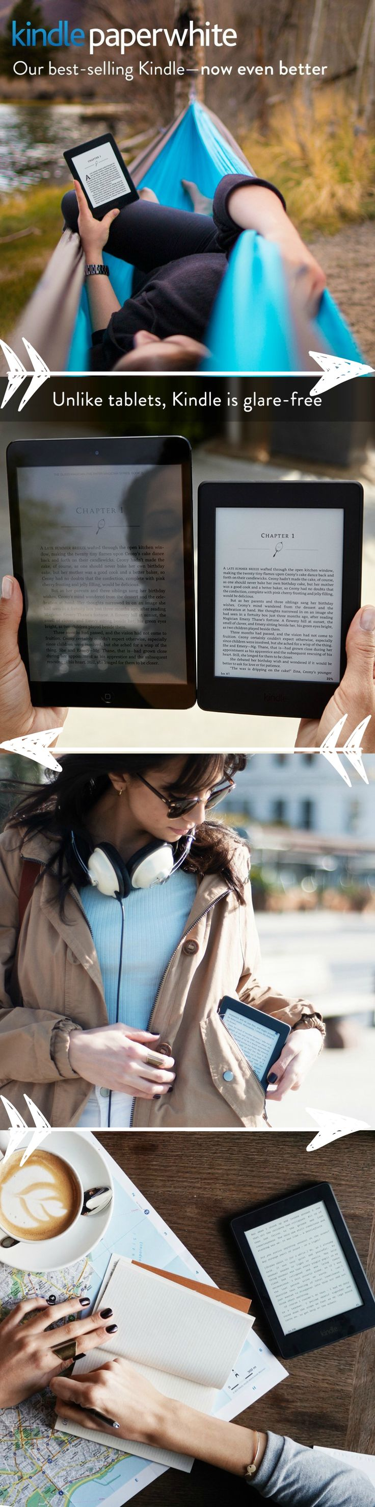 7 Best Amazon Kindle Images On Pinterest Amazoncom Amazonbasics 3button Usb Wired Mouse Black Electronics Lighter Than A Paperback Comfortably Hold Paperwhite In One Hand For Those Times When