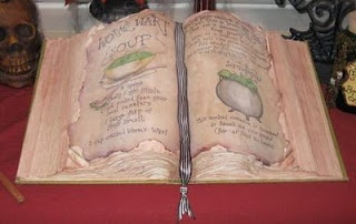 DIY Nightmare Before Christmas Halloween Props: DIY Antique Book Halloween Prop