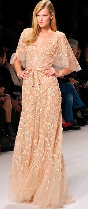 Evening gown, couture, evening dresses, formal and elegant Elie Saab