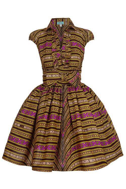 African dress! <3 pink pumps to match #! will go great with this! Don't forget to get some micro braids!