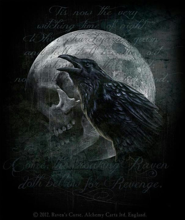 Raven S Curse Alchemy Gothic Art Dark Gothic Art
