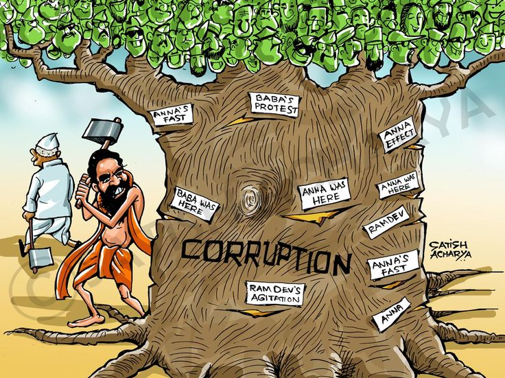 Image result for posters on corruption