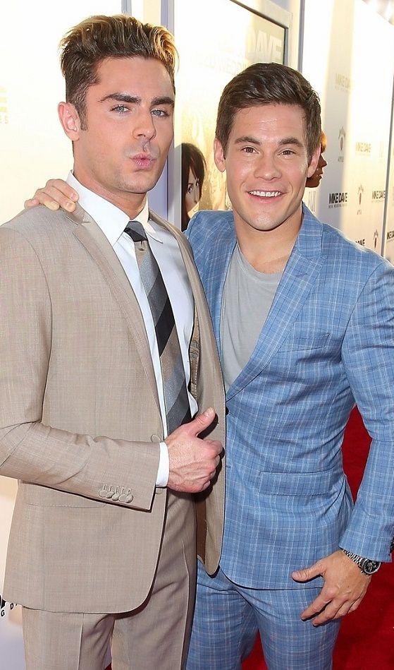 VJBrendan.com: Zac Efron & Adam Devine at the Premiere 'Mike & Dave Need Wedding Dates' Premiere in Los Angeles