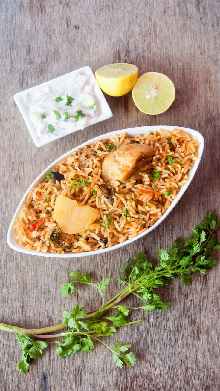 Always Hungry: Chicken Briyani