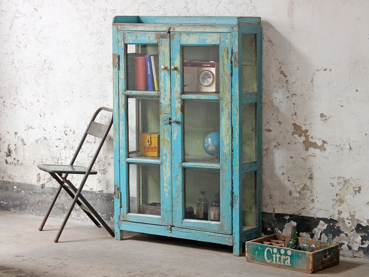 Storage Cupboard from Scaramanga's original vintage collection of furniture #interiors #interiorinspo #homedecor #furniture