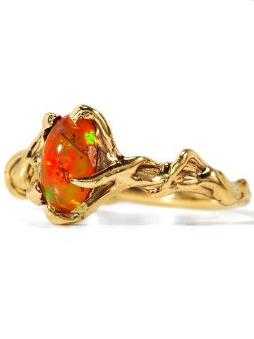 Mexican Fire Opal.  My favorite.