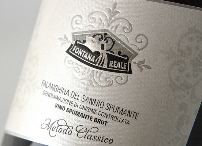 #packaging #spumanti di #Aglianico e #Falanghina Fontana Reale studio grafico #lagartixadesign