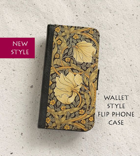 Phone case  William Morris  Floral illustration  Pimpernel by OutFromTheShadows | Etsy
