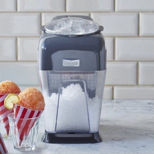 A Machine That Makes Perfect Shaved Ice in Seconds
