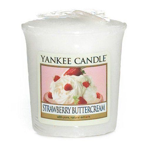 Strawberry Buttercream Votive Yankee Candle