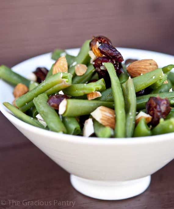 Clean Eating Cranberry Green Bean Salad. Follow Us for more healthy ...