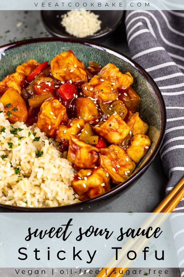 Vegan Sticky Tofu