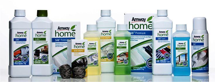 Amway Home é uma uma linha completa de produtos para limpeza de superfícies, lavanderia e louças. A linha Amway Home possui a exclusiva fórmula biodegradáveis, dermatologicamente testadas, concentradas e de alta performance. Produtos de alta qualidade com ingredientes derivados de fontes naturais como o coco, os cítricos e minerais, que permitem que nossos produtos proporcionem resultados surpreendentes para sua casa #Amwayhome #amway