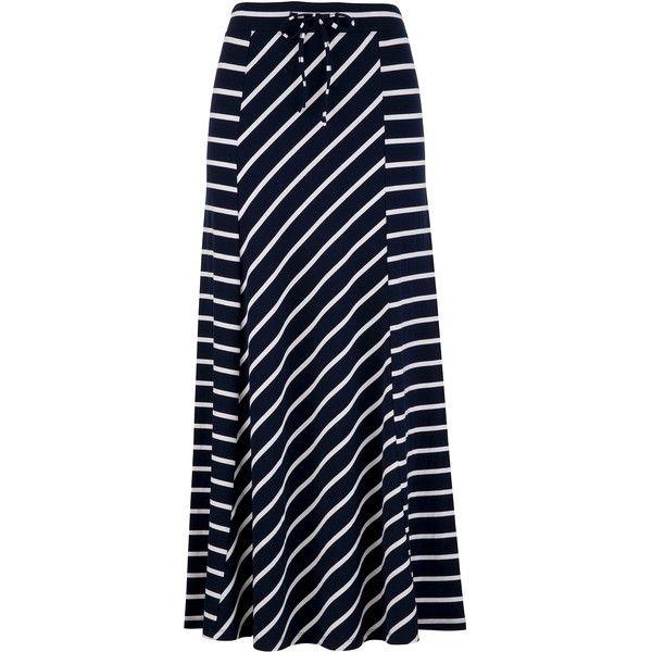 The 25  best Long striped skirts ideas on Pinterest | Long summer ...