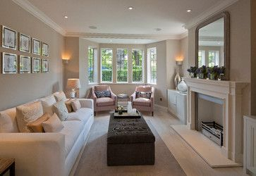 Middleway, London - transitional - Living Room - Other Metro - Peach Studio                                                                                                                                                     More