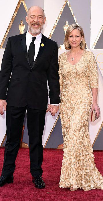 Oscars 2016: JK Simmons & Michelle Schumacher