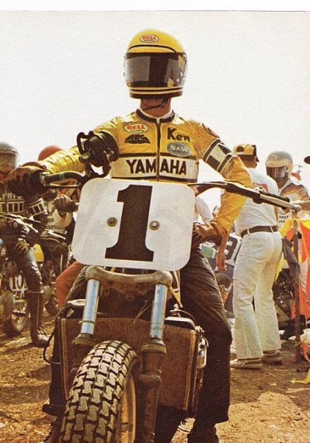 Kenny Roberts - Yamaha Flat Tracker
