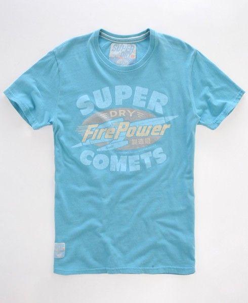 Superdry Tin Tab Comets T shirt