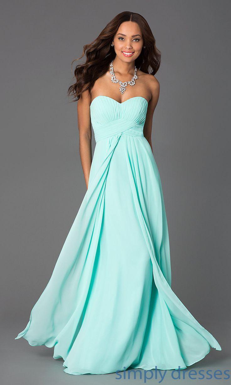 Mint green strapless bridesmaid dresses naf dresses - Mint Dress Dq 8658 A Jpg 1000 1666