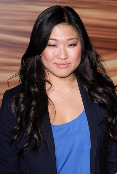Jenna Ushkowitzs half up, half down hairstyle: Hairstyles Hair Beautiful, Hairstyles Hairbeauti, Factories Price, Ushkowitz Half, Down Hairstyles, Celebrity Hairstyles, Jenna Ushkowitz, Art Jenna, Cheap Factories