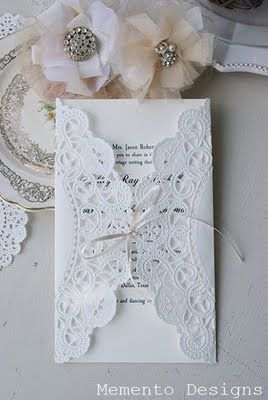 possibly for the wedding programs