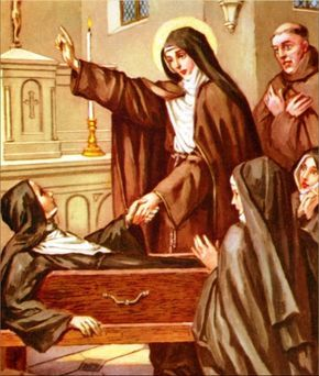 Another extraordinary Saint who was blessed with the gift of prophecy was St. Colette (1381-1447), the founder of Colettine Poor Clares who became a Franciscan and was made superior general of the Poor Clare Order. Reformer of those convents already in existence, she became the administrator of the convents she had established. Toward the end of her life she began to divulge events that were to take place in the future, including the Protestant Reform.    At the convent in Besancon, France…