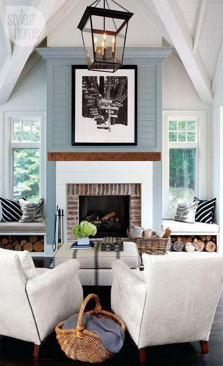 Small yard patio update garden love pinterest - Best 20 Fireplace Seating Ideas On Pinterest